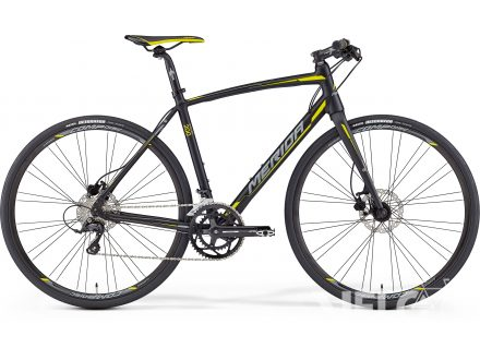 Merida SPEEDER 200 Matt Black(Yellow/Grey) 2016