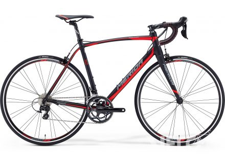 Merida SCULTURA 400 Matt Black(Red/Grey) 2016