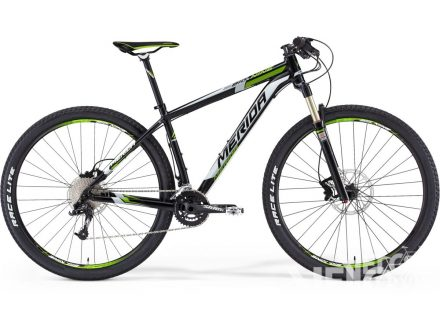 Merida BIG NINE TEAM ISSUE Met Black(white/green) 2015