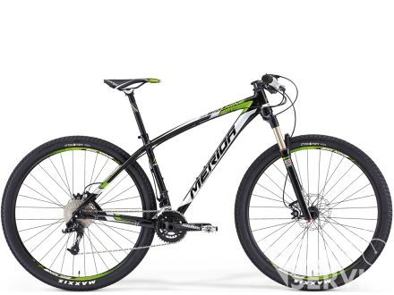 Merida BIG NINE TEAM ISSUE Met Black(white/green) 2014