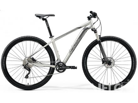 Foto - Merida BIG.NINE 80 Matt titan (Black/Silver)