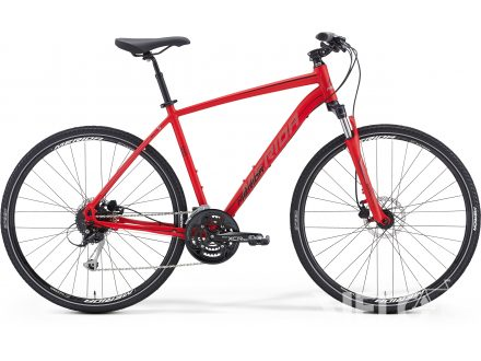 Merida CROSSWAY 100 Matt Red(Black/Grey) 2016