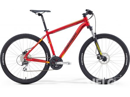 Merida BIG.SEVEN 20-D Matt Red(Yellow/Black) 2016