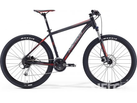 Merida BIG.SEVEN 100 Matt Black(Red/Grey) 2016
