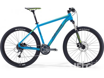Merida BIG.SEVEN 300 Matt Blue(Green/Black) 2016
