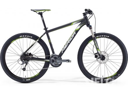 Merida BIG.SEVEN 300 Matt Met. Black(Wht/Green) 2016