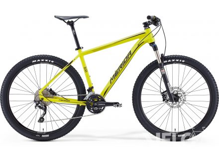 Merida BIG.SEVEN 500 Matt Yellow(Black) 2016