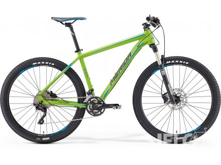 Merida BIG.SEVEN XT EDITION Matt Green(Blue/Black) 2016