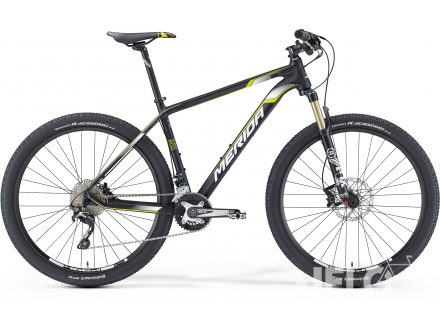 Merida BIG.SEVEN 800 Matt Black(Yellow/White) 2016