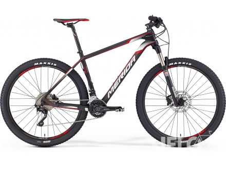 Merida BIG.SEVEN 1000 Matt Ud Carbon(Red/Wht) 2016
