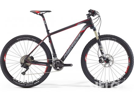 Merida BIG.SEVEN 7000 Matt Ud Carbon(Red/White) 2016