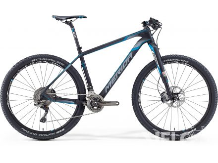 Merida BIG.SEVEN 9000 Matt Ud Carbon(Blue/Lite Grey) 2016