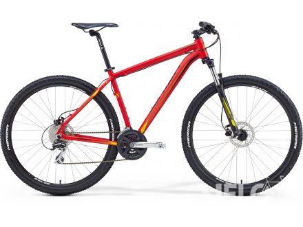 Merida BIG.NINE 20-D Matt Red(Yellow/Black) 2016