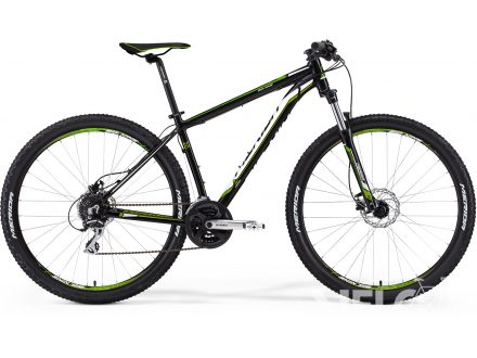 Merida BIG.NINE 20-D Matt Black(Green) 2016