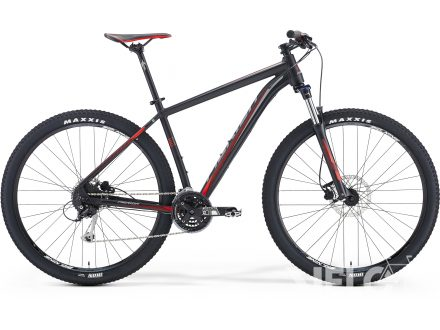 Foto - Merida BIG.NINE 100 Matt Black(Red/Grey) 2016