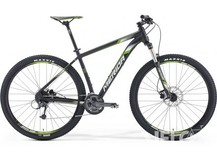 Merida BIG.NINE 300 Matt Met. Black(Wht/Green) 2016