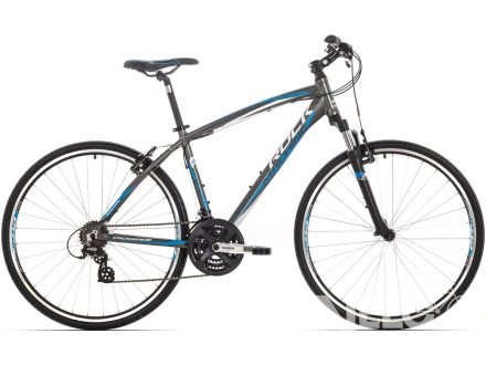 Rock Machine CrossRide 100 anthracite/white/blue 2016