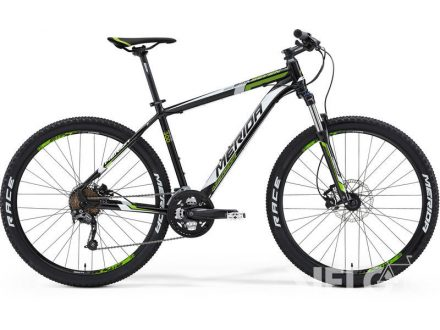 Merida BIG SEVEN 300 Met. Black(White/Green) 17""