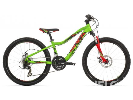 Rock Machine Storm 24 neon green/red/black 2017