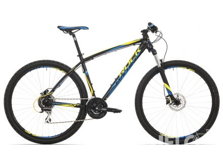 Rock Machine Manhattan 90 29er black/yellow/blue 2017
