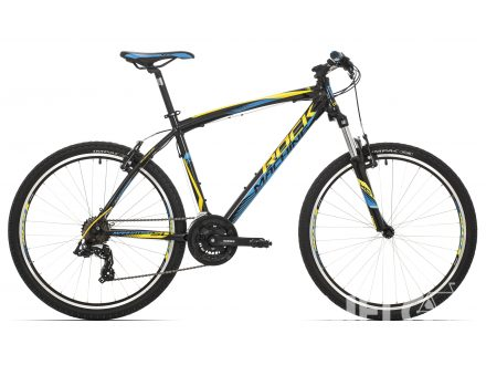 "Rock Machine Manhattan 50 26"" black/yellow/blue 2017"