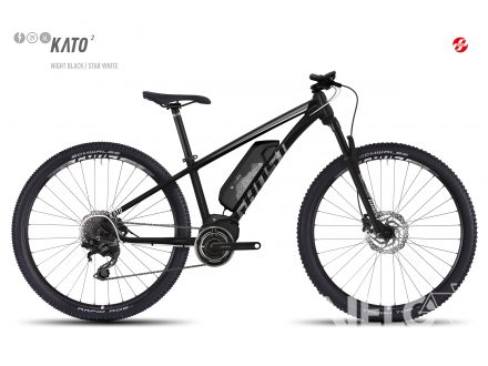 "Ghost Ebike KATO 2 29"" nigh black/star white 2017"