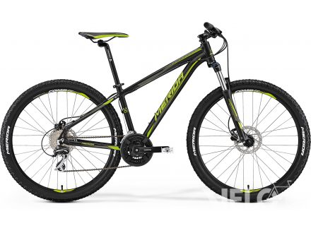 Merida BIG.SEVEN 20-D Matt Black(Green) 2017