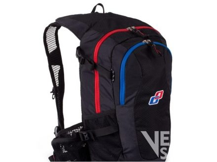 batoh Ghost black/red/cyan/white 12l