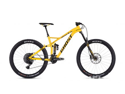 "Foto - Ghost Framr 8.7 27,5"" yellow shiny 2018"