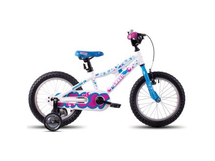 "Ghost POWERKID 16"" white/blue/pink 2017"