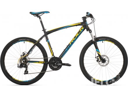 "Rock Machine Manhattan 60 26"" black/yellow/blue 2018"