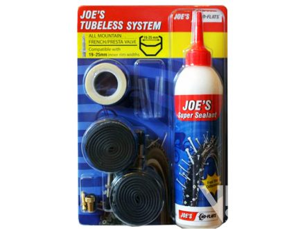"tubeless system JOE´S 19-25mm 26""- 29"""