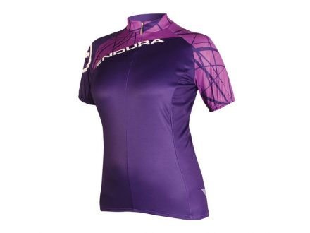 Dres dámský Endura Single Track Jersey LTD Purple
