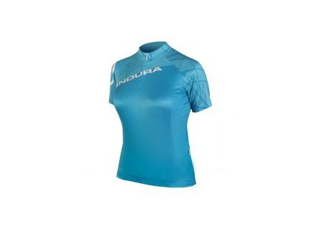 Dres dámský Endura Single Track Jersey LTD Blue