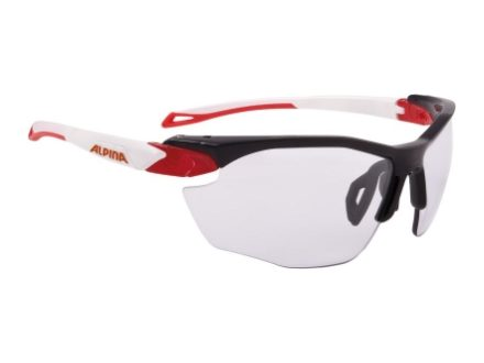 brýle Alpina Twist Five Hr Vl+ black-red-white
