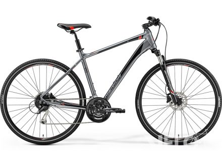 Merida CROSSWAY 100 Dark Silver(Red/Black) 2019