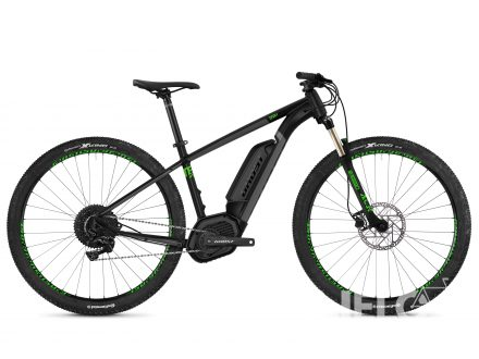 Ghost Ebike TERU B4.9 jet black/urban gray/riot green 2019