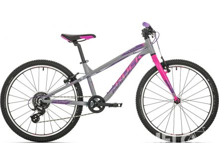 "Rock Machine Thunder 24"" gloss grey/pink/violet 2019"
