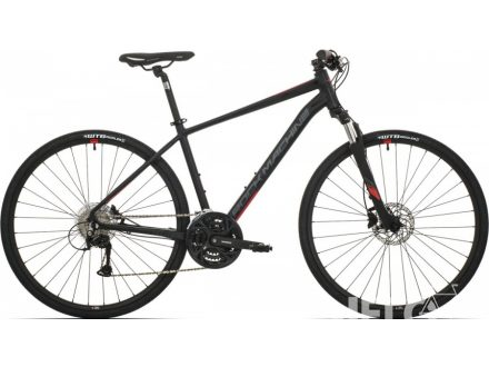 Rock Machine CrossRide 500 mat black/brick red/dark grey 2019