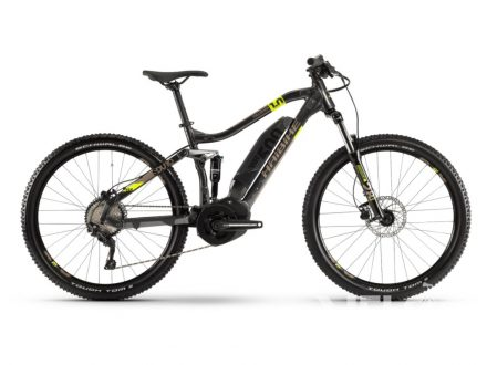Haibike SDURO FullSeven 1.0 500Wh 10-r. Deore20 HB YSS antracitová/lime/písková 2020