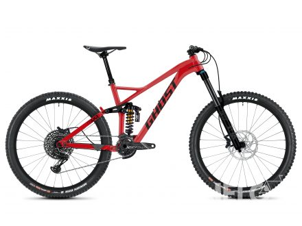 Ghost FRAMR 8.7 Riot Red / Jet Black 2020