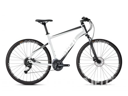 Ghost SQUARE CROSS 1.8 AL - Iridium Silver / Jet Black / Star White 2020
