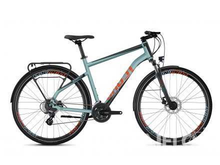 Ghost SQUARE TREKKING 2.8 AL - River Blue / Jet Black / Monarch Orange 2020