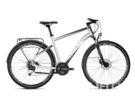 Foto - Ghost SQUARE TREKKING 4.8 AL - Iridium Silver / Jet Black / Star White 2020