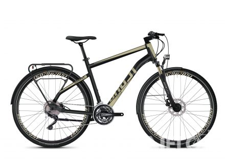 Ghost SQUARE TREKKING 6.8 AL - Jet Black / Ext Gold 2020