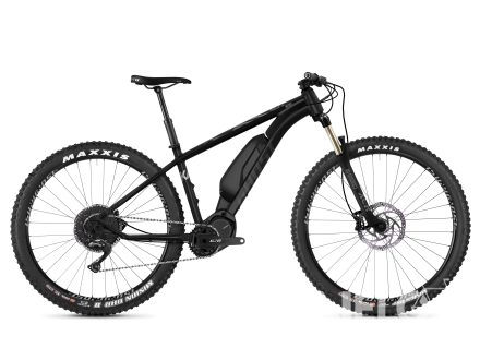 Ghost Ebike Kato X S5.7+ - Night Black / Jet Black / Iridium Silver 2020