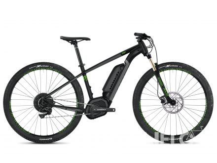 Foto - Ghost Ebike Teru B4.9 - Jet Black / Urban Grey / Riot Green 2020