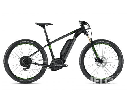 Ghost HYBRIDE TERU B4.7+ AL - Jet Black / Urban Gray / Riot Green 2020