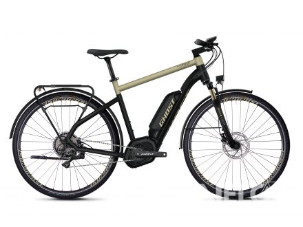 Ghost HYBRIDE SQUARE TREKKING B5.8 AL - Jet Black / Ext Gold 2020