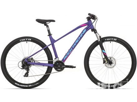 Rock Machine Catherine 70-27 mat violet/neon cyan/purple 2020